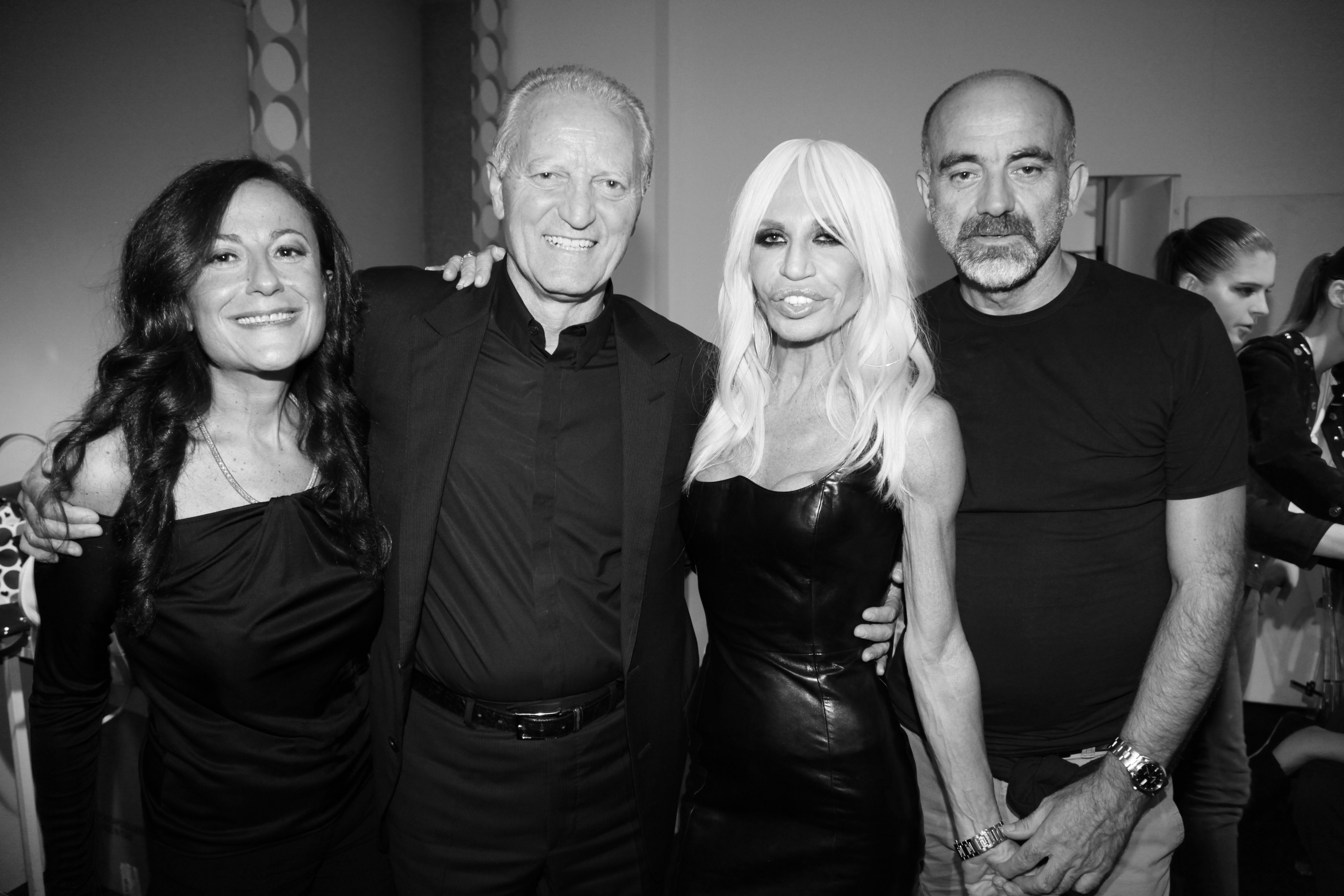 francesca versace, santo versace et Donatella Versace ...