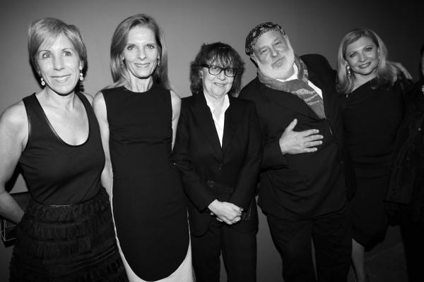 13 Bonnie Clearwater, Directrice du Moca,Sandra Brant, Sigrid Sischy et Bruce Weber