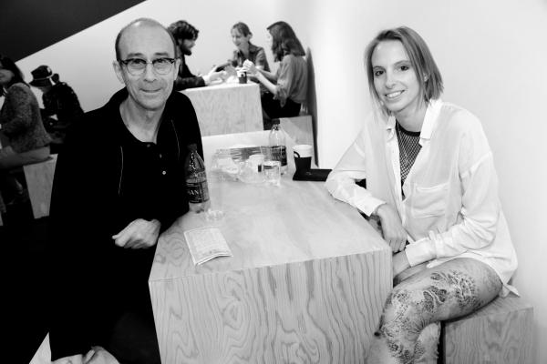 14 Pause café avec les artistes Bernard Frize et Camille Henrot