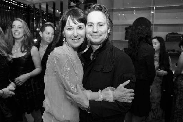 25 Pamela Baxter , Presidente de Christian Dior Couture USA et Jason Binn