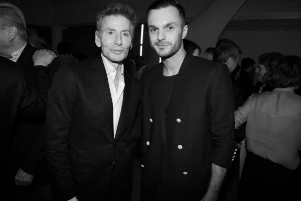 28 Calvin Klein et Kris Van Ascche