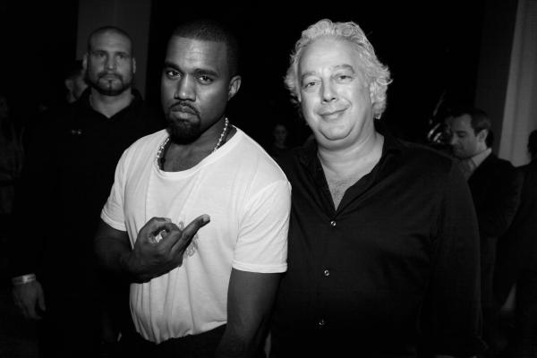 29 bis Kanye West et le galeriste Aby Rosen