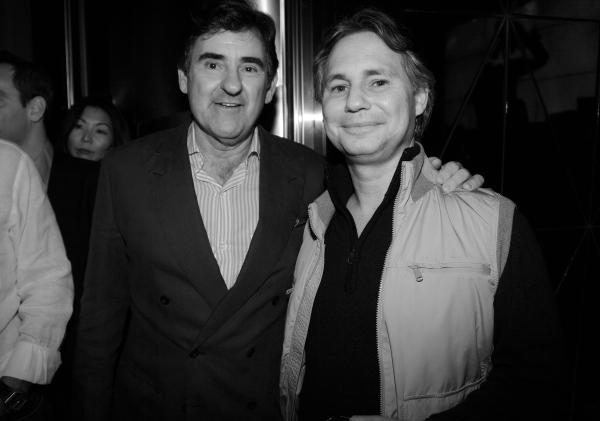 29 les deux editeurs Peter Brant et Jason Binn