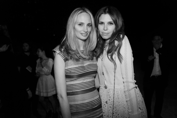 42Lauren Santo Domingo et Dasha Zhukova