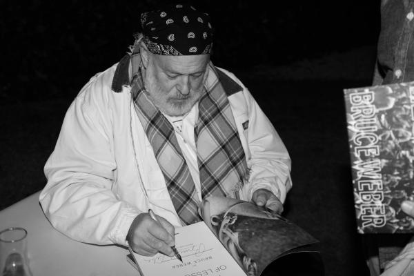 5 Bruce Weber au Standard pour la signature de son livre