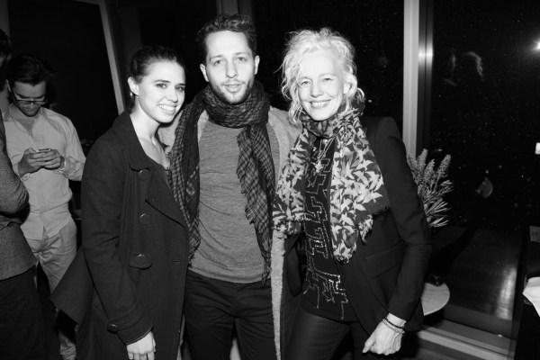 Alessandra Balazs, Derek Blasberg et Ellen von Unwerth