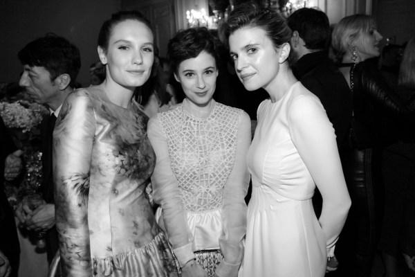 Anna Girardot, Melanie Bernier et Cecile Cassel