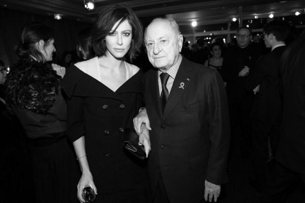 Anna Mouglalis et Pierre Berge