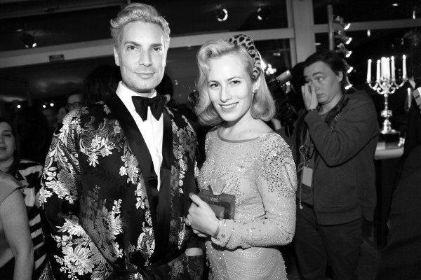 Cameron Silver et Charlotte Olympia