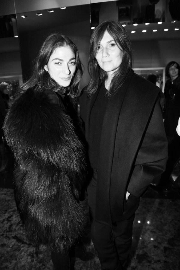 Capucine Safyurtlu et Emmanuelle Alt