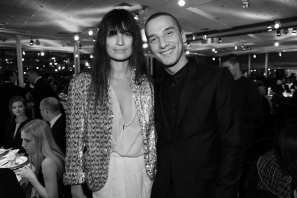 Caroline de Maigret et Karim Sadli