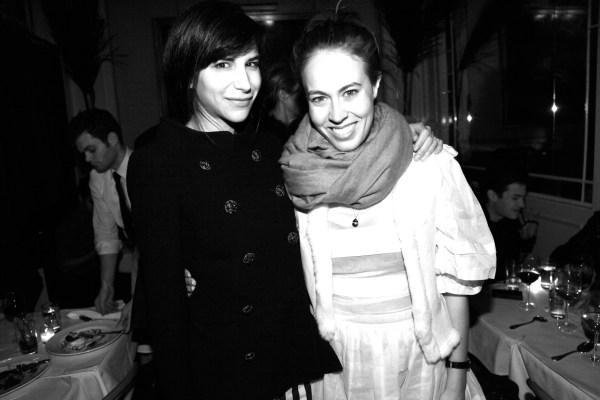Caroline Sieber et Nina Flore