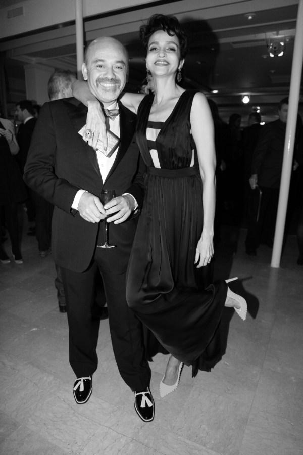 Christian Louboutin et Farida Khelfa (4)
