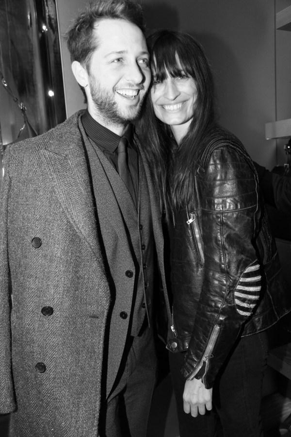 Derek Blasberg et Caroline de Maigret