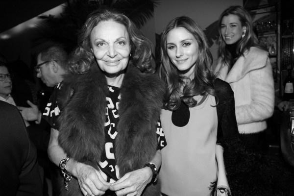 Diane Von Furstenberg et Olivia Palermo