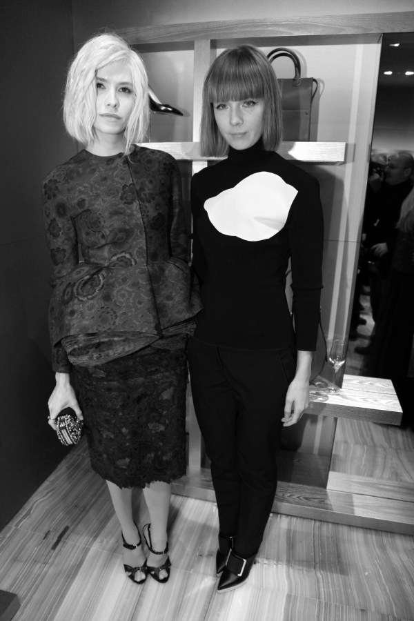 Elena Perminova et Vika Gazinskaya
