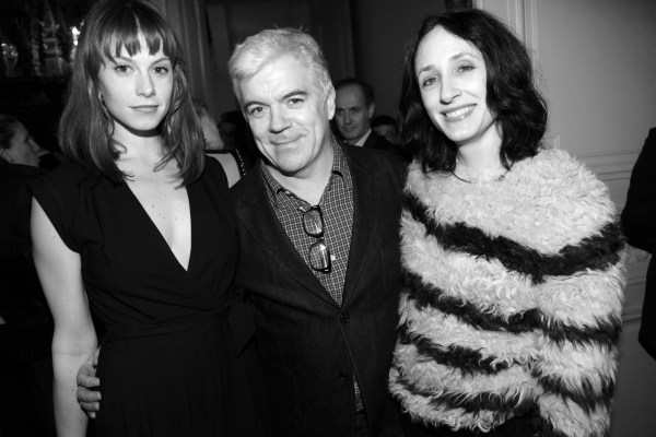Elettra Wiedemann, Tim Blanks et Nicol Phelps