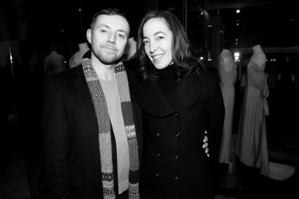 Eric Halley et Pamela Golbin