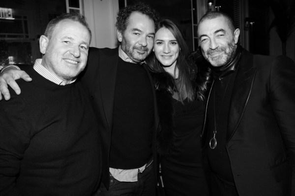 Fabien Baron, Remo Ruffini, Zani Gugelmann et Etienne Russo