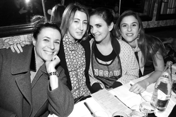 Garance Doré, Sabrina Marshall, Laure Heriard Dubreuil et Victoire de Pourtalès