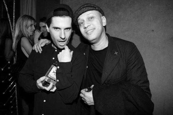 Geordon Nicol et Tommy Saleh