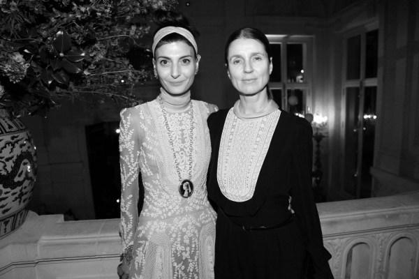 Giovanna Battaglia et Karla Otto