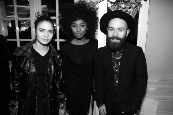 Grimes, Inna Modja et Woodkid