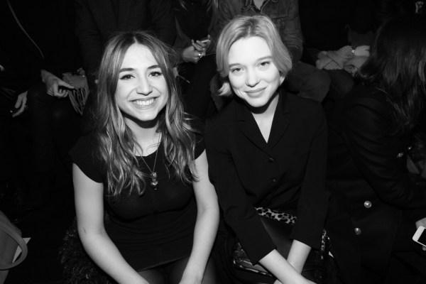 Iza Igelain et Lea Seydoux