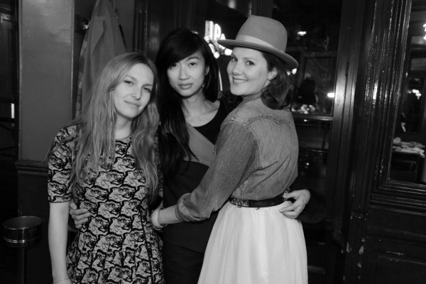 Josephine de la Baume, Misty Rabbit et Fafi