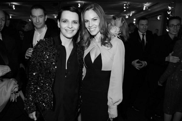 Juliette Binoche et Hilary Swank (2)