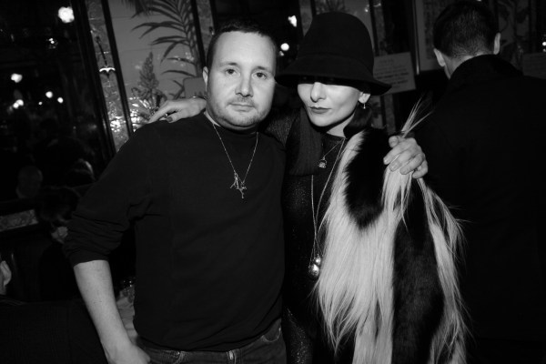 Kim Jones et Catherine Baba