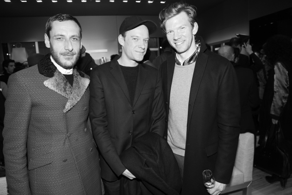 le duo d'architecte Dimore Studio Emiliano Salci et Britt Moran et Alexander Hertling