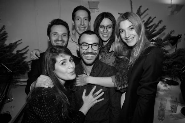 l'equipe de l'atelier Franck Durand