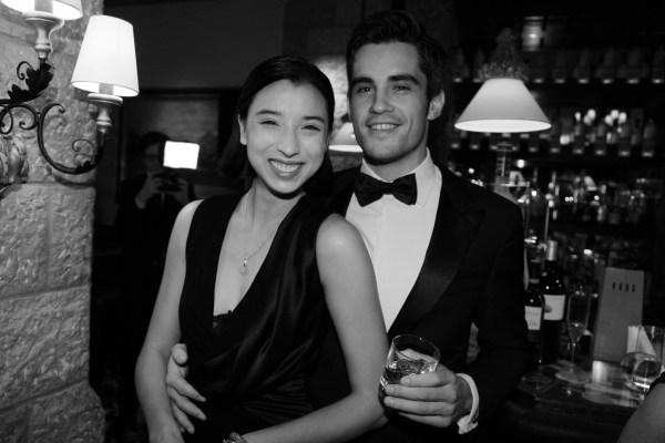 Lily Kwong et son petit ami
