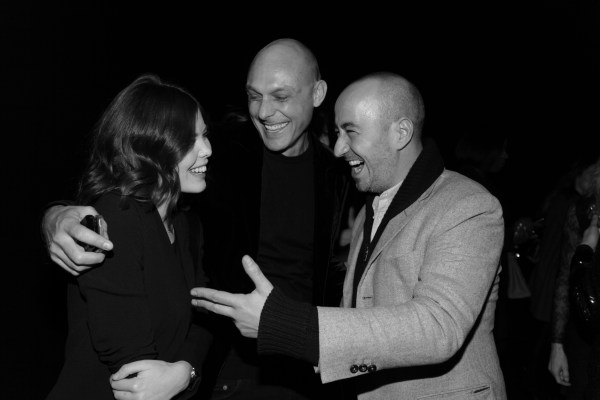 Lou Lesage, Yannick Angelloz Nicoud et Saif Mahdi