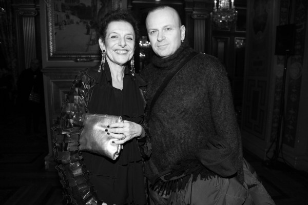 Lyne Cohen-Solal et Maurizio Galante