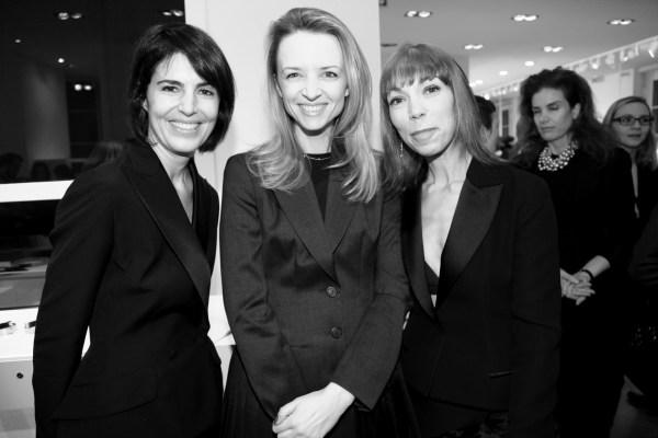 Manuela Suarez de Poix, Delphine Arnault et Mathilde Meyer