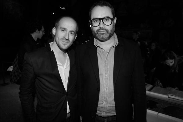 Mark Alizart et Lucien Pagès