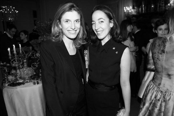 Martina Mondadori et Pamela Golbin