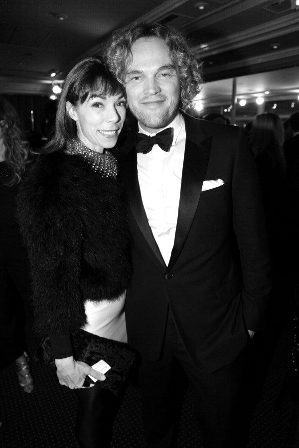 Mathilde Meyer et Peter Dundas