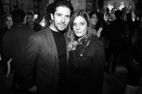 Melvil Poupaud et  Chiara Mastroiani