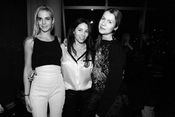 Natacha Darty, Jenna Courtin-Clarins et Natalie Joos