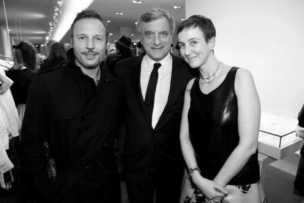 Olivier Bialobos, Sydney Toledano et Sarah Andelman