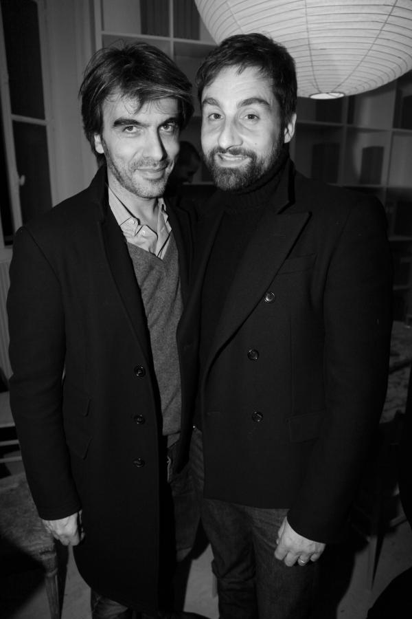 Olivier Lalane et Emmanuel Frey