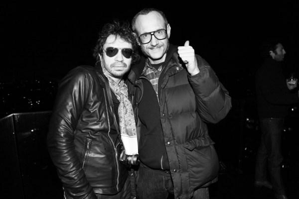 Olivier Zahm et Terry Richardson