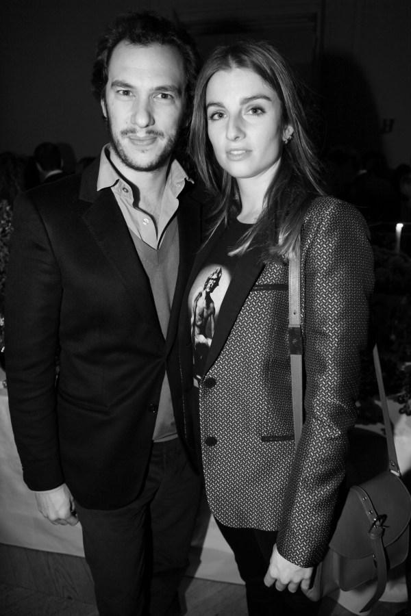 Patrizio Micelli et Sonia Sieff