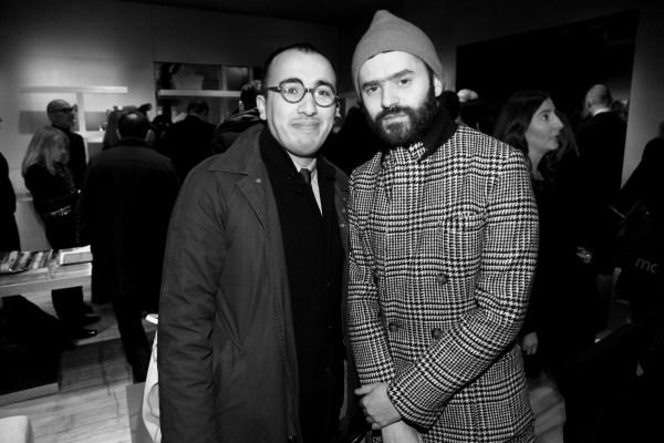 Ramdane Touhami et Alexandre Mattiussi
