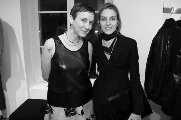 Sarah Andelman et Gaia Repossi