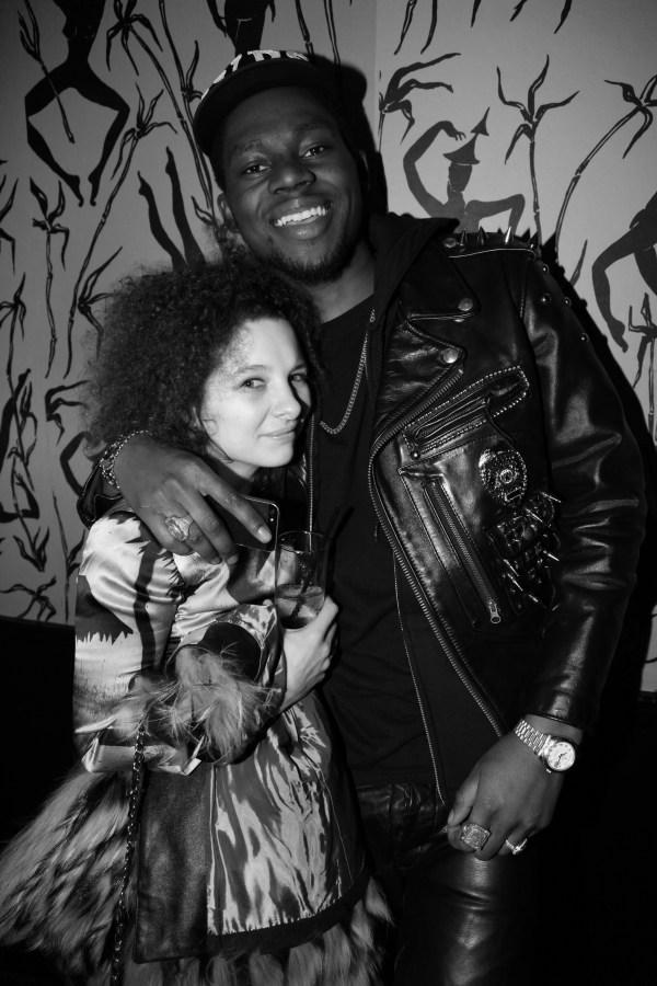 Valentina Moreno et Theophilus London