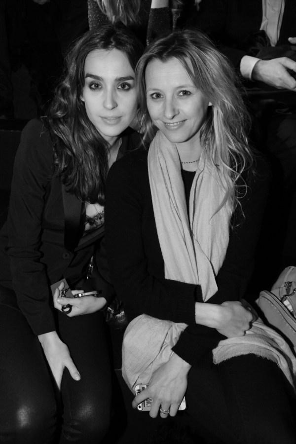 Victoria Olloqui et Sarah Lavoine